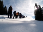 1. Schneeschuh-Tour 9./10.2.2008
